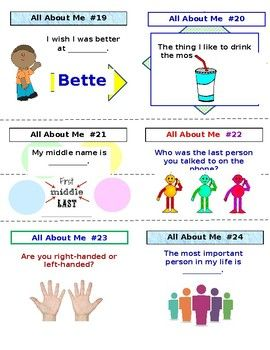 FIRST DAY/WEEK OF SCHOOL ALL ABOUT ME SCOOT GAME    * A GREAT GETTING-TO-KNOW-YOU ACTIVITY!   * CARDS, GRID AND LESSON PLAN ALL INCLUDED!   * GOOD ANYTIME DURING THE YEAR BUT ESPECIALLY AT THE BEGINNING!   * 25 SCOOT CARDS – 25 QUESTIONS ALL ABOUT THEM!   * THIS SCOOT GAME encourages RESPECT and UNDERSTANDING for others.    * A GREAT WAY TO BREAK THE ICE!   * SHORT ANSWERS will help even the shy students to share.    * COMPLETE LESSON PLAN INCLUDED!   * LAMINATE THESE CARDS BEFORE CUTTING…