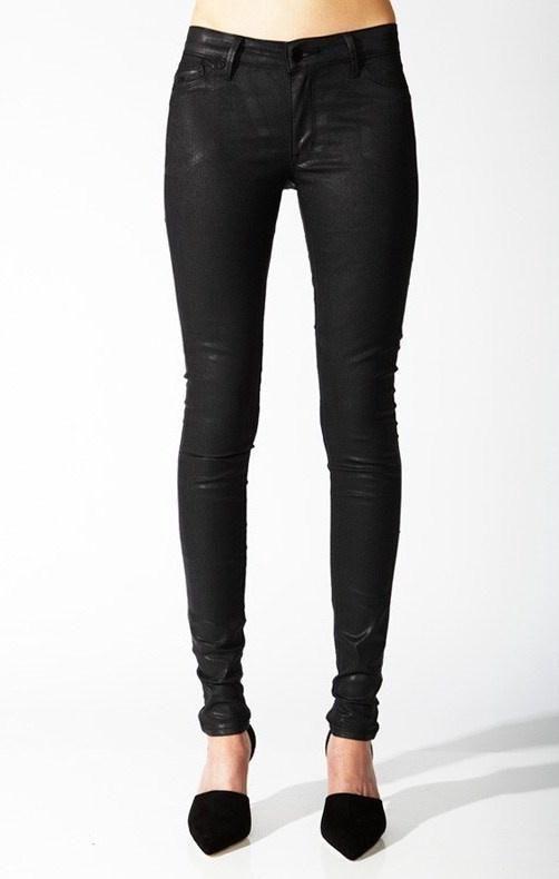 RES Denim - Trashqueen Skinny Jeans Blackheart
