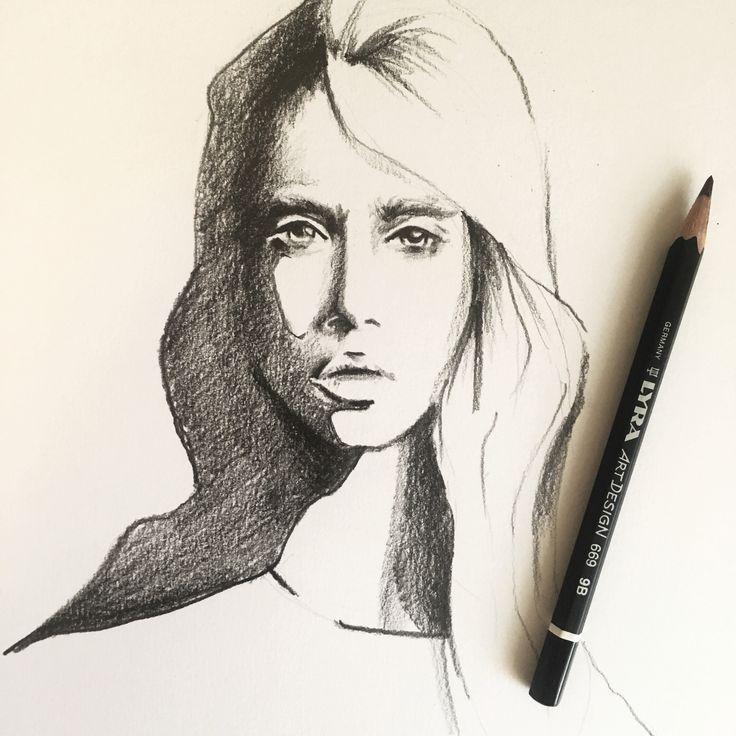 Pencil portrait   Sketching