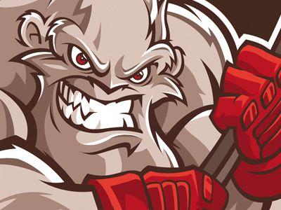 Blizzard logo - hockey team