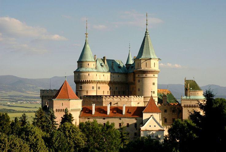 Rozprávkový slovenský hrad/zámok Bojnice