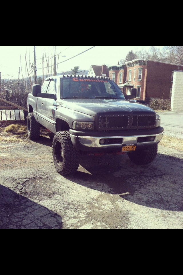 Too Much With The Cab Lights And Grill But Hey Its A Dodge Trucks Sel