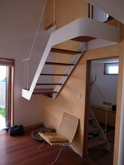 like this floating stairs