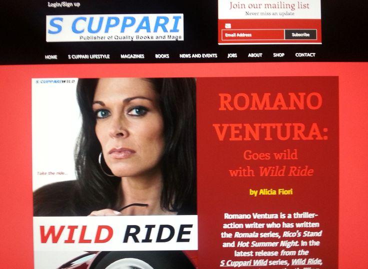 Romano Ventura goes wild with Wild Ride - exclusive interview - http://www.scuppari.com