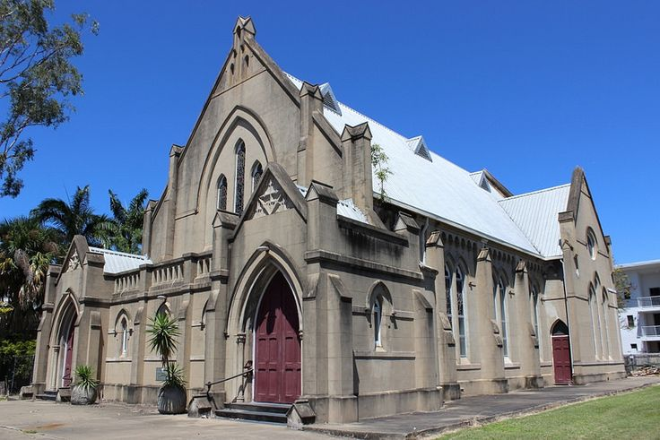 2016 Outside view of the former St Andrew's Presbyterian Church, Bolsover Street, Rockhampton. | by Love in a little black diary