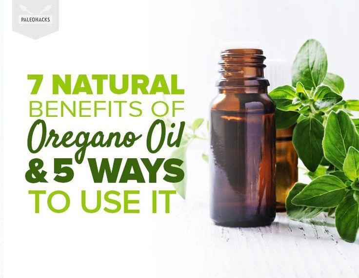 7 Natural Benefits of Oregano Oil