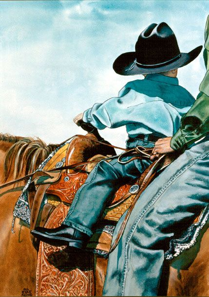 """THE BUCKAROO"" by Jill Wyatt Marshall"
