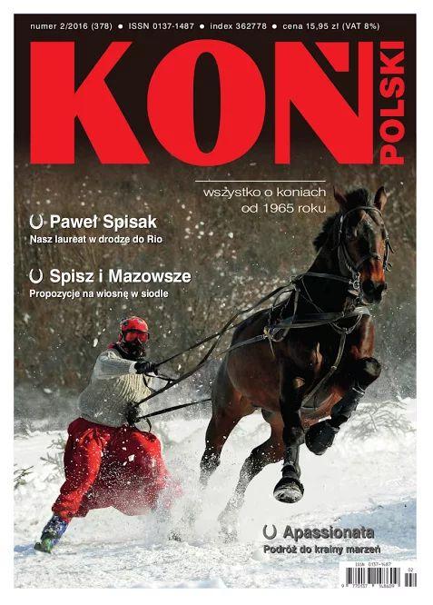 Luty/February 2016 Koń Polski