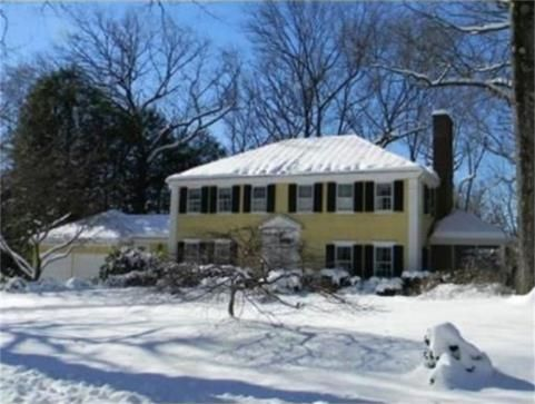 32 SAGAMORE ROAD,, WELLESLEY, MASSACHUSETTS  Classic 1940's Hip Roof Colonial Located in the Desirable Cliff Estates