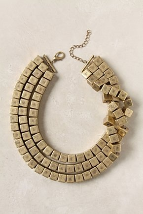 Prism necklace by Anthropologie - £38 - Hi birthday gift. Team with maxi for instant tribal chic.