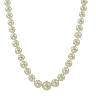 Every classy woman should have a set of pearls.  Although I love Tahitian Pearls, white is for sure the most classy, in my opinion of course.: Classy Women, Gold Filigree, Classy Woman, Cultured Freshwater Pearls, 14K Gold, Culture Freshwater Pearls, Pearls Strands, Tahitian Pearls, Filigree Clasp