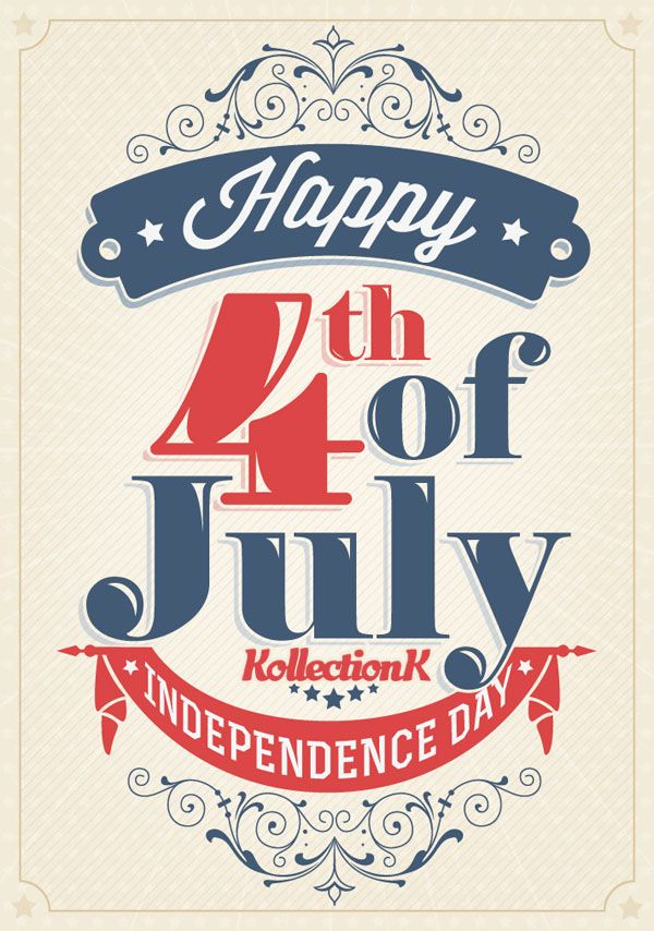 Happy 4th of July. Including Special Discount code. - KollectionK