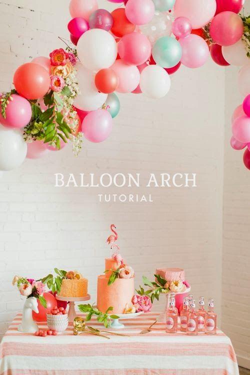 Balloon arch tutorial