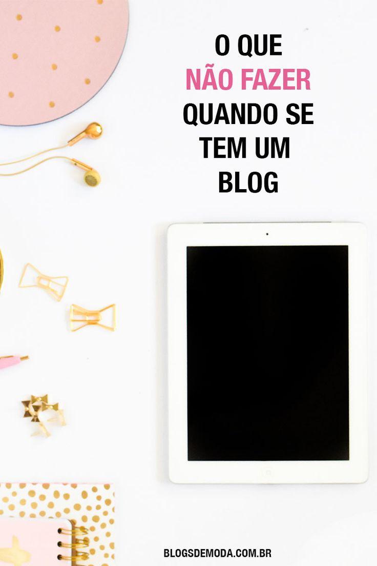 O jeito errado de começar um blog: leia o post ou salve esse pin para ler depois!