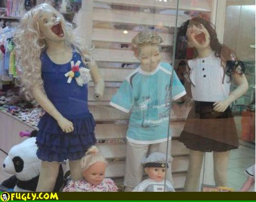 Best Mannequins Images On Pinterest Cow Imaginary Friends - These 20 creepy mannequins are the stuff nightmares are made of
