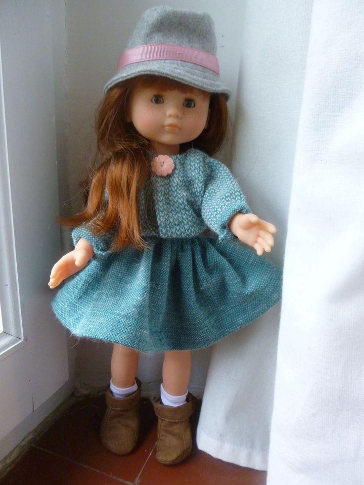 """Ensemble """"home made"""" pour la poupée de Lily"""