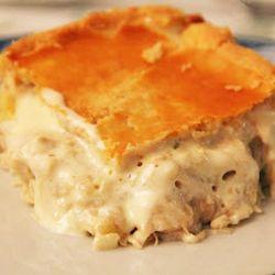 Lanche/Salgado - Torta de frango cremosa