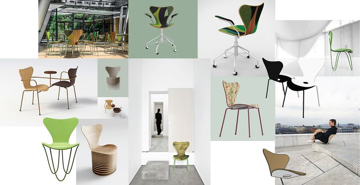 7 Cool Architects ǁ Designers ǁ Fritz Hansen Series 7™ chair (3107) by Arne Jacobsen