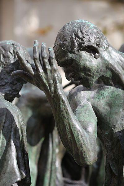 Rodin, August Les Bourgeois de Calais detail