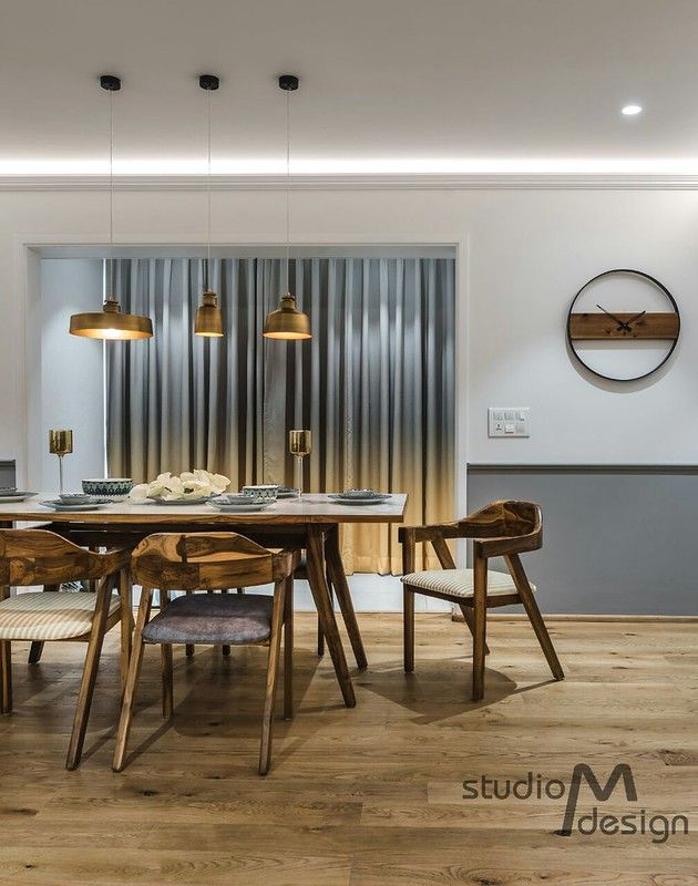 A Bold And Beautiful Renovated Scandinavian Style Apartment Dress Your Home Dining Room Style Modern Stylish Dining Room Dining Room Design