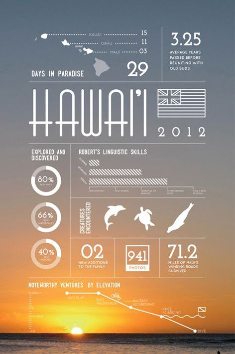 Hawaii infographic