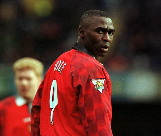 Andy Cole wore the number nine with distinction at the beginning of the Premier League era