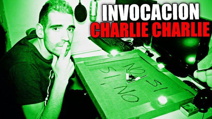 CHARLIE CHARLIE CHALLENGE LA INVOCACIÓN CON FIDGET SPINNER (El Nuevo Jue...