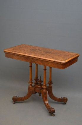 VICTORIAN GAME TABLE on AntiqueForSale from Nimbus Antiques