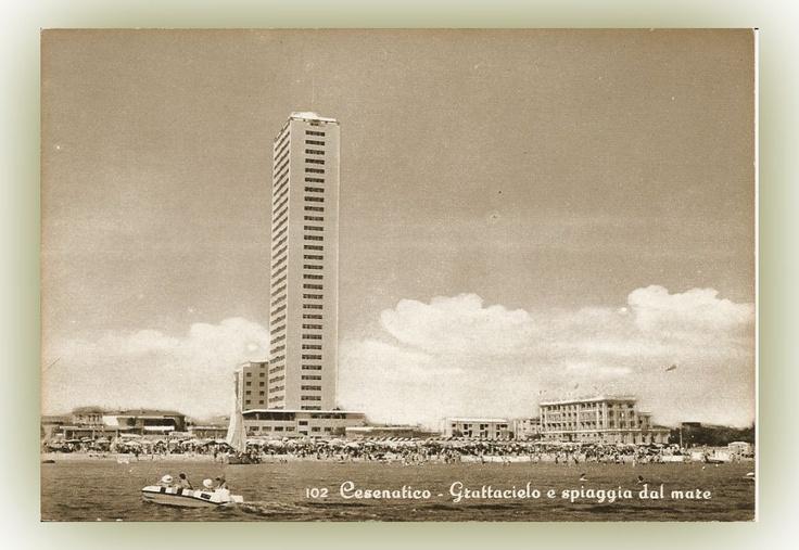 Cartolina Cesenatico anni '50-'60 by Dany Buzzoni