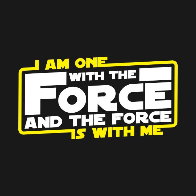 I am One With The Force And The Force Is With Me T-Shirt is sold by TeePublic for $20 plus $7 shipping. Day of the Shirt collects daily and weekly t-shirt sales from across the Internet and aggregates them all in one place. Updated every hour, refreshed every day.