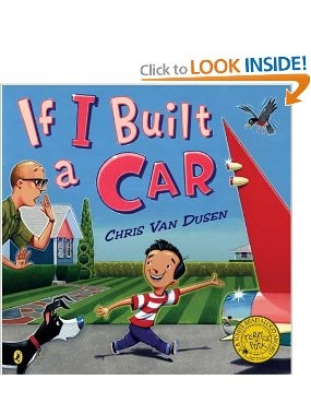 if i built a car by chris van dusen read aloudkid bookschildrens