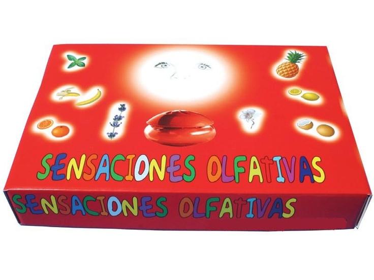 Sensaciones olfativas.    Aromas: limón, fresa, plátano, coco, melón, naranja, piña, menta, jazmín, lavanda, pino y chocolate.