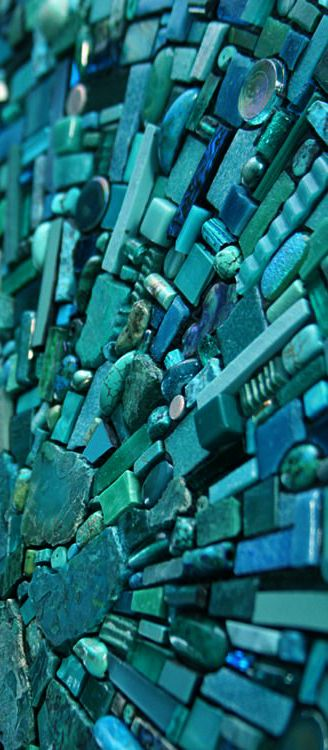 teal | turquoise | glass