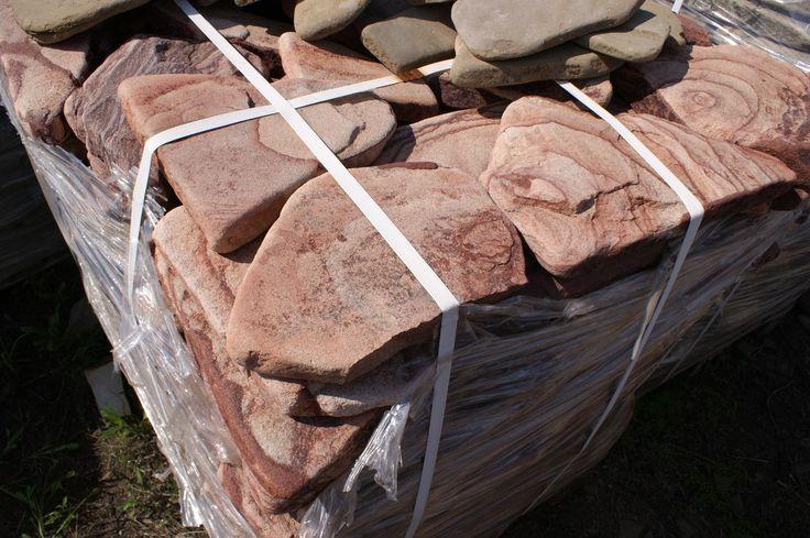 639 РУЧЕЙНИК КАПУЧИНО ТЕРРАКОТ Песчаник галтованный / ROUCHEINIK CAPPUCCINO TERRACOT Sandstone tumbled