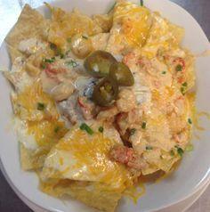 Von's Seafood Nachos