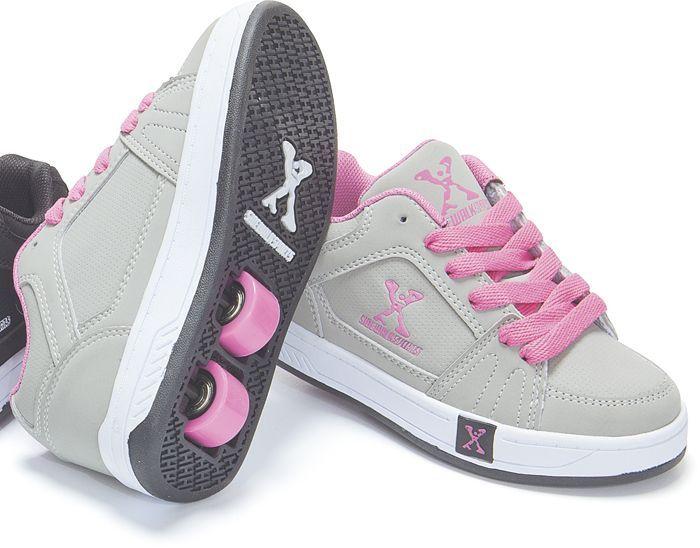 NEW Girls' sidewalk roller shoes