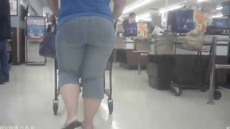 Candid mature booty