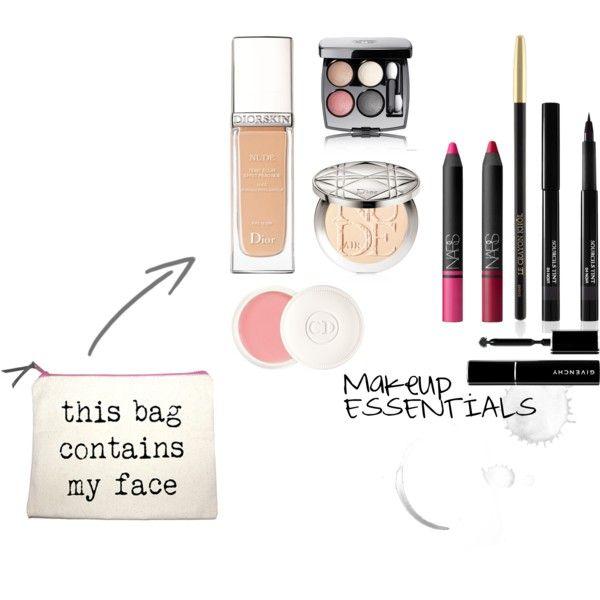 Make-up essentials by ONBOARD Travel Checklist