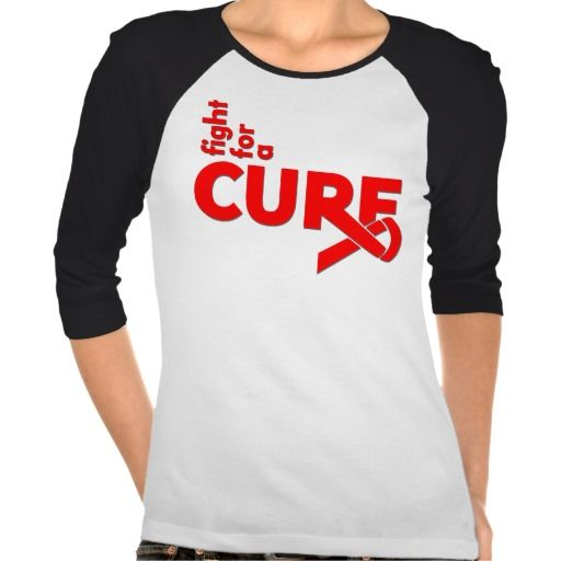 Hemophilia Fight For A Cure T-shirts by www.giftsforawareness.com #Hemophilia #awareness
