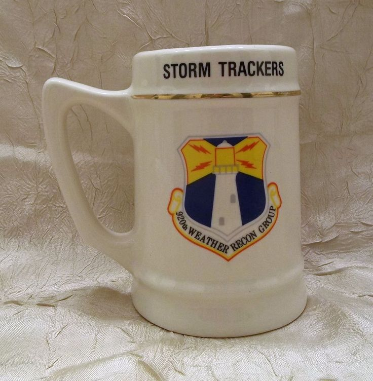 Storm Trackers 920th Weather Recon Group U.S. Air Force Reserve Mug USAF Cup