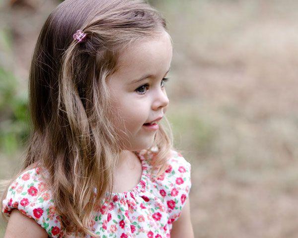 Little Girl Bob Haircut | elegant little girl hairstyle