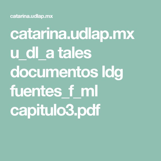 catarina.udlap.mx u_dl_a tales documentos ldg fuentes_f_ml capitulo3.pdf