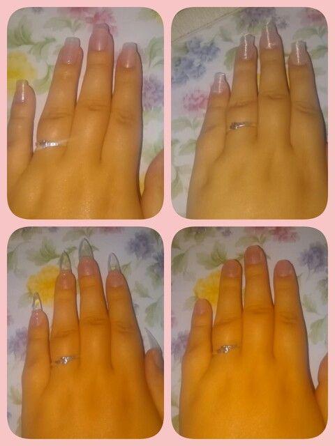 Pasos uñas  fibra de vidrio