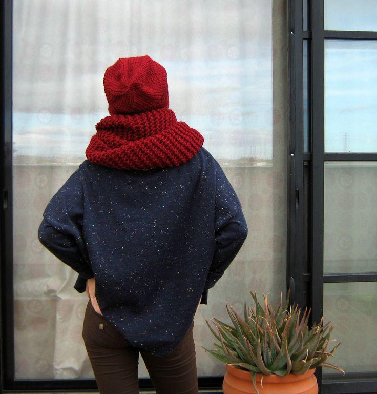 Gorgeous autumn and spring look #AsyaKlimina #Klimina #KLMN #Asya_Klimina #Accessories #Scarf #Wrap #Shawl #handemade #autumn_scarf #women #knit #winter_accessories #knitted_scarf #winter_scarf #scarf #infinity_scarf #chunky_scarf #fashion_accessories #snood #madrid #spain #шарф #снуд #шапка #вязание