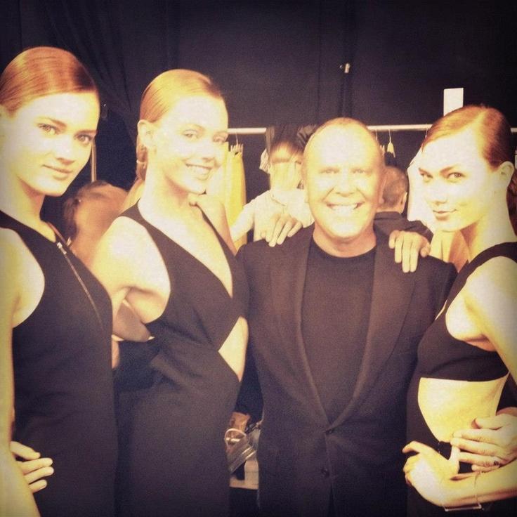 Michael Kors Backstage