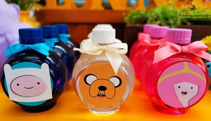 garrafas agua turma da aventura