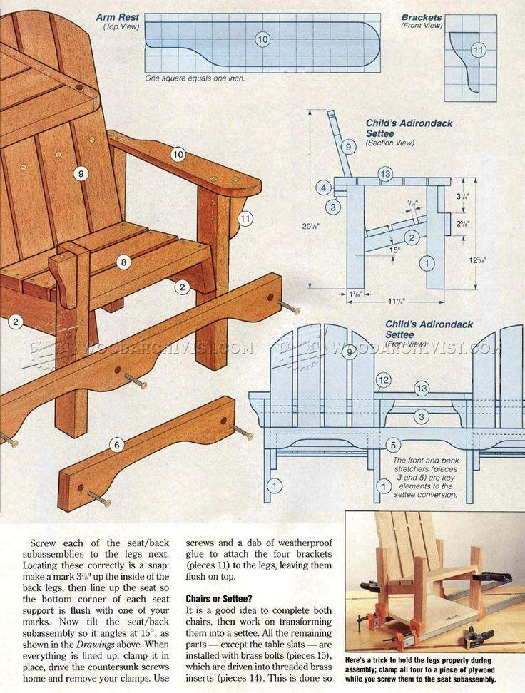 Best 25 Adirondack chair plans ideas on Pinterest