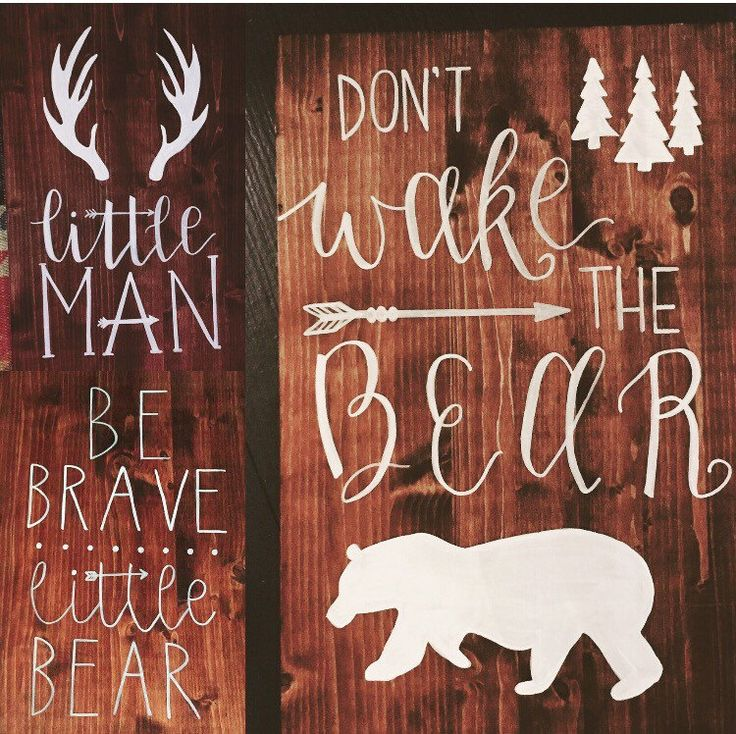 A personal favorite from my Etsy shop https://www.etsy.com/listing/487340377/woodland-nursery-signs-woodland-boys