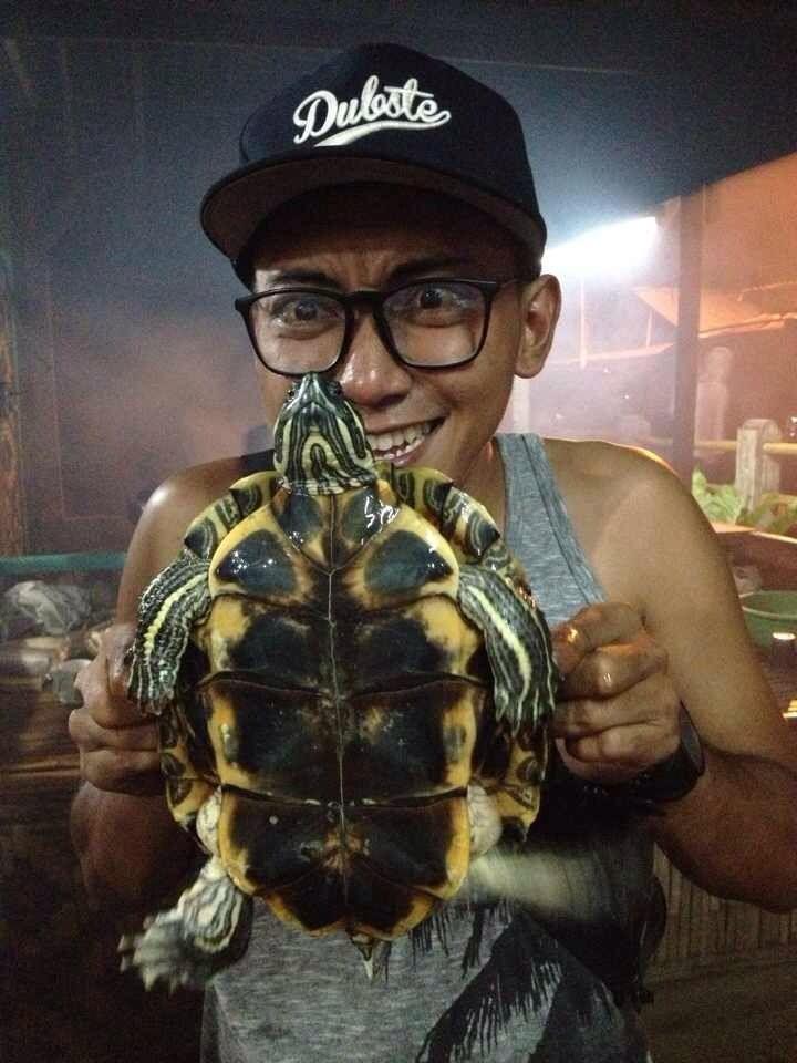 Kura-kura dalam perahu..