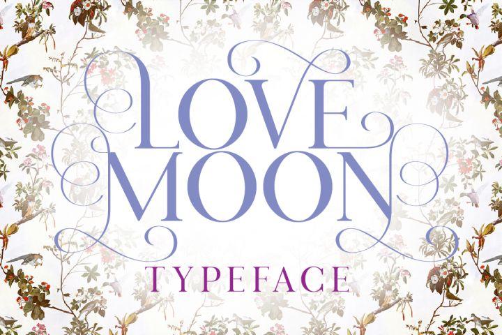 Love Moon from FontBundles.net